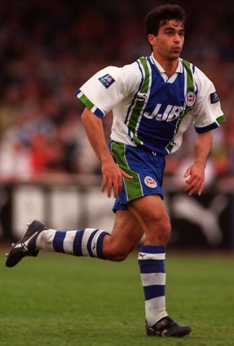 Roberto Martínez played for Wigan Athletic from 1995-2001. Photo via Daily Post