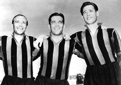 'Gre-No-Li' - An attacking threesome consisting of Gunnar Gren, Gunnar Nordahl and Nils Liedholm.