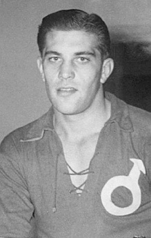 Nordahl during his time with Degerfors IF.