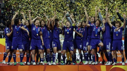 Japan defeated team U.S.A in the final of the FIFA Women's World Cup held in Frankfurt, Germany. © FIFAWWC