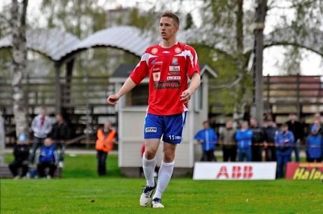 Kemi Kings striker Christian Eissele. @Teemu Kvist