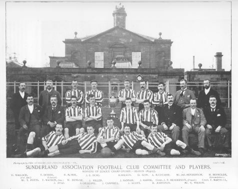Sunderland 1894-95 - 'The team of Talents'