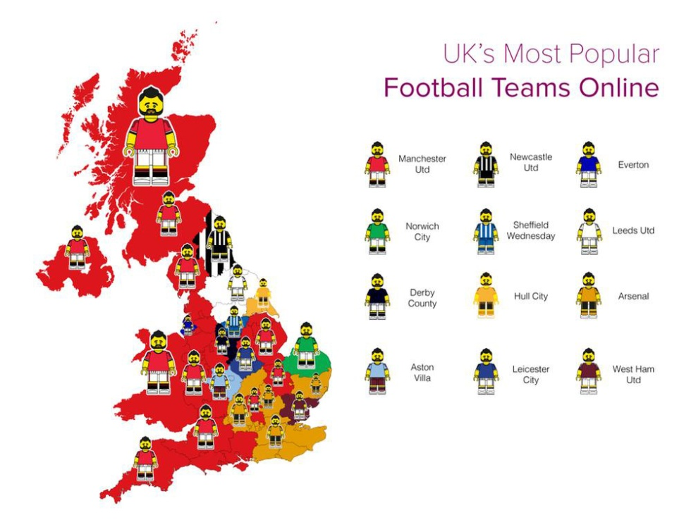 most-popular-football-teams